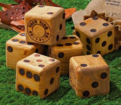 Gigantic Board Game Dice