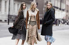 Chic Girl Gang Fashion Ads - The Zara Fall Campaign Stars a Troop of Models