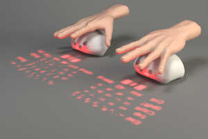 The 'Lumiquitous' Acts as both a Keyboard and Mouse at once