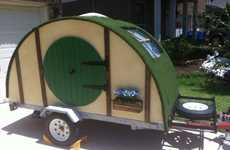 Shire-Styled Campers - This Camping Trailer is Inspired by J.R.R. Tolkien's 'The Hobbit'