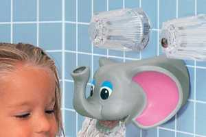 This Cute Elephant Doubles As A Fun Bubble Bath Dispenser