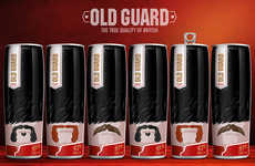 Royal Guard-Imitating Beer - The 'Old Guard' Beer by Viewpoint Resembles English Guardsman