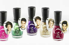 Boy Band Cosmetic Collections - This One Direction Makeup Collection References Popular Songs
