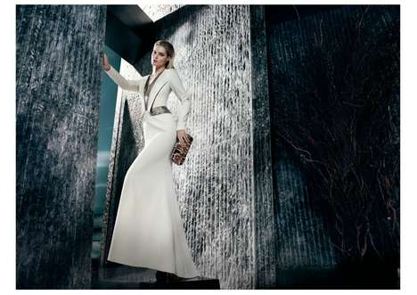 Fiercely Dark Fashion Ads - The Gizia Fall 2013 Campaign Stars Model Juju Ivanyuk