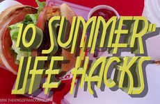 Smart Summer Solution Videos - These 10 Life Hacks Help Make the Most Out of Summer Days