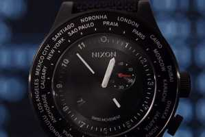 Nixon's Travel Watch is Perfect for Seeing the World