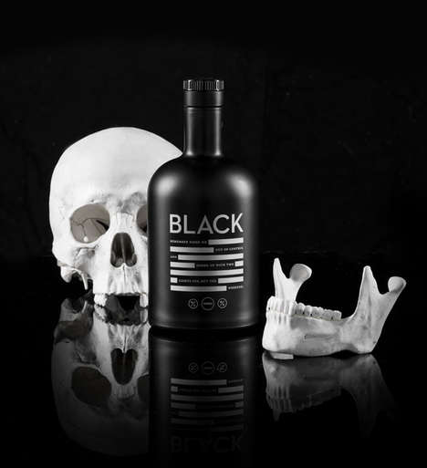 Blackout Booze Branding - The