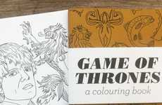 Fantasy Phenomenon Coloring Books - Have a Magical Time with this Game of Thrones Coloring Book