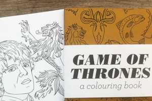 Have a Magical Time with this Game of Thrones Coloring Book