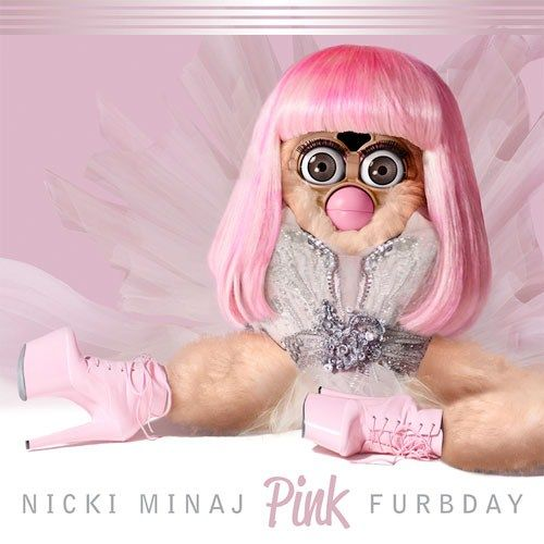 Furby-Filled Album Covers (UPDATE)
