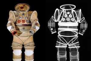 The 'Suited for Space' Exhibit Shows the Inners of a Spacesuit