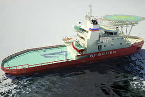 The NB 508 Ice Breaking Boat Could Alter Antarctic Shipping Routes