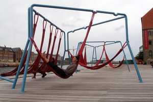 The Off-Ground Installation is Part Playground, Part Retreat