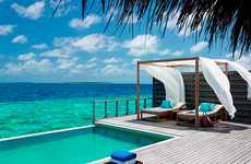 Luxe Conservation-Conscious Resorts - The Dusit Thani Maldives Resort is a Dream Destination