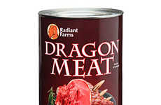 Mythical Creature Meats - This Can of Dragon Meat Makes for the Perfect Victory Feast