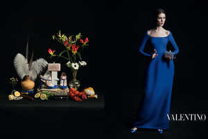 The Valentino Fall 2013 Campaign is Classically Stunning