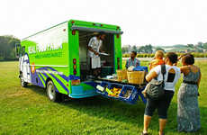 Mobile Farmer's Market - The Real Food Farm Truck Brings Fresh Produce to Baltimore in Style