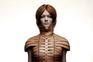 Designer Una Burke Has Created Stunning Constrictive Clothing