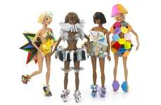 Tribute Designer Dolls - To Celebrate Selfriges' New Toy Shop, Designers Dressed Up Barbie