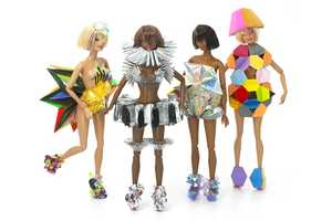 To Celebrate Selfriges' New Toy Shop, Designers Dressed Up Barbie