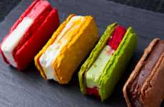 High-Class Hybrid Desserts - The Macaron Ice Cream Sandwich is a Delectable Dessert by Chef Payard
