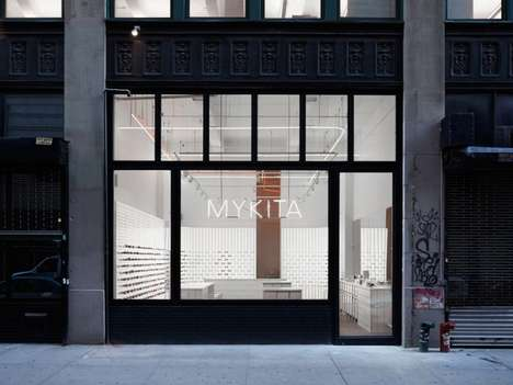 Emblematic Eyewear Boutiques - The Mykita New York Store Stages Optical Offerings With On-Brand Mini