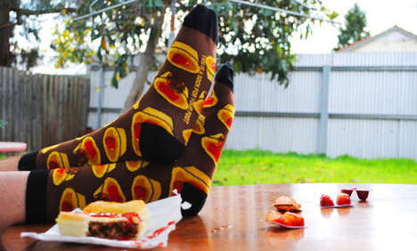Fake Food Socks - Keep Your Toes Cozy in a Pair of Faux Food Socks