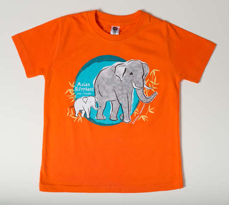 Conservationist Kids Clothing - SpeeZees Donates $1 for One Tee Shirt to Prevent Animal Endangerment