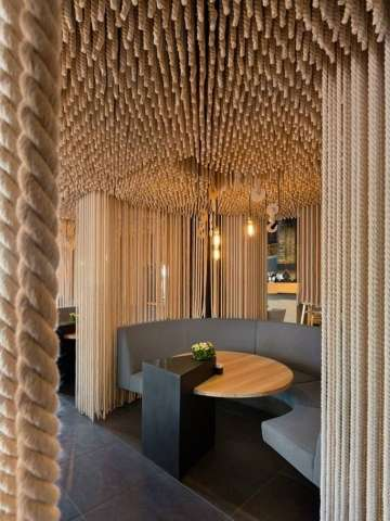 Nautical Rope-Lined Eateries - Odessa Restaurant Draws Inspiration from the Ukrainian Sea Port City