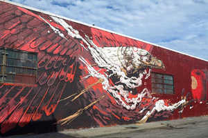 The Massive Wall Mural from Smith is Laced with Symbolism
