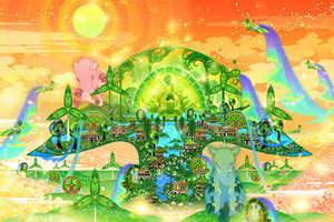 The Celestial Art from Aya Kato Creates a Surreally Divine World