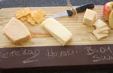DIY Chalk Cheese Boards - Turn Ordinary Pine Wood into a Practical Cutting Board with This Guide