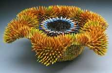 Organic Pencil Sculptures