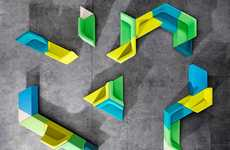 Colorful Reconfigurable Furniture
