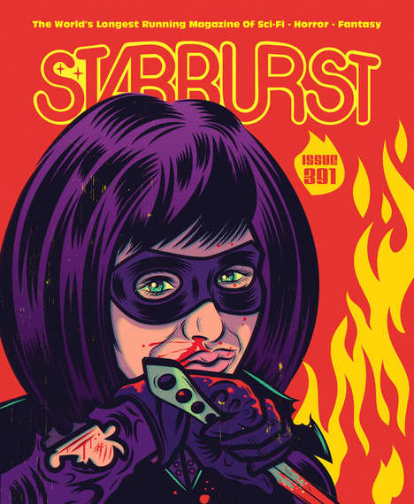 Iconic Vigilante Magazine Covers - Starburst UK Features Hit Girl from Kick-Ass 2