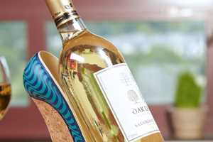 These Shoe-Shaped Wine Holders are Chic