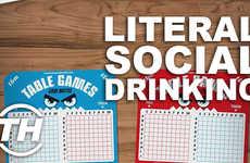 Literal Social Drinking