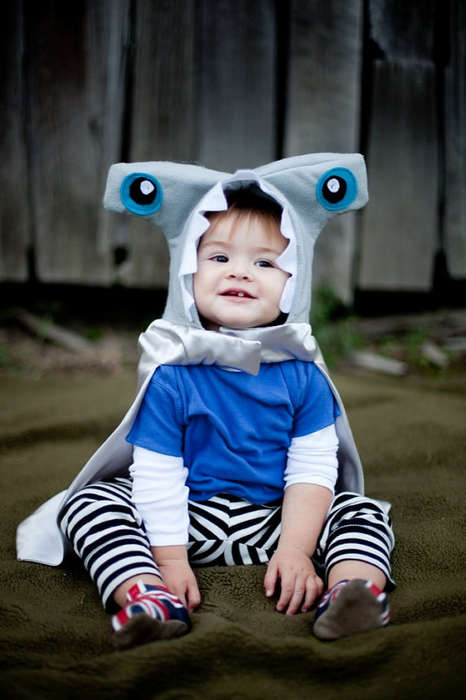 Adorably Ferocious Toddler Costumes - This Hammerhead Shark Outfit is Perfect for Children to Wear