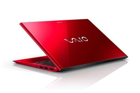 Colorful Special Edition Laptops - Sony Launches its Limited Edition Red Laptops in the US