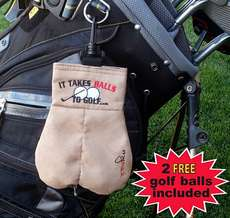 45 Wacky Golf Products - From Offensive Golf Ball Sacks to Visor Toupees