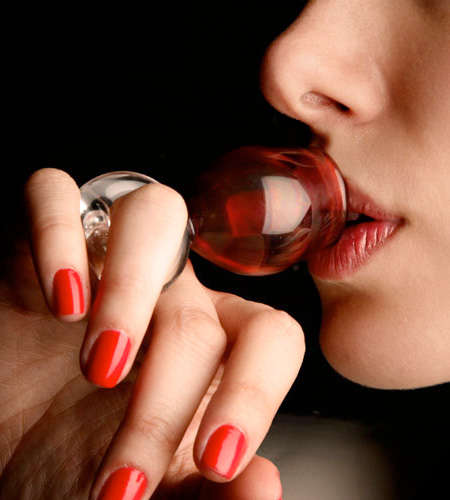 Wearable Wine Glasses - These Wine Glass Rings Allow Women to Wear Their Drink