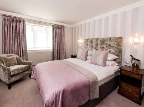 Luxe Fashion-Branded Hotels - The New Laura Ashley Manor is Filled with Laura Ashley Products