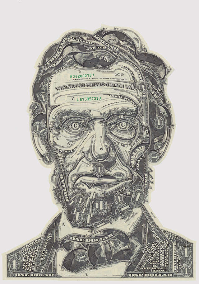 Intricate Currency Collages (UPDATE)