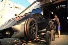 Scrap Metal Sports Cars