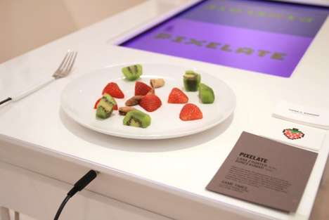 Healthy Eating Digital Games - Pixelate by Sures Kumar and Lana Z Porter Makes Diners Compete