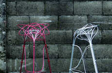 Metallic Wire Seating