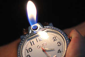 This Watch Lighter is a Functional and Fun Party Trick
