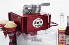Retro Snow Cone Machines - The Waring Snow Cone Maker from Fancy is Perfect for Summer Snacks