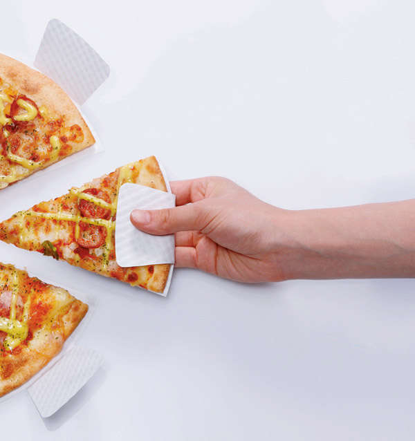 Pizza Slice Paper Plates