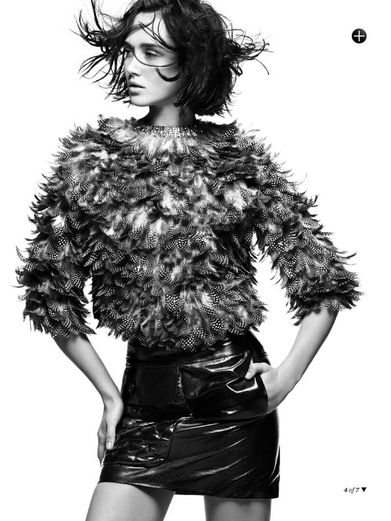 Fiercely Feathered Editorials